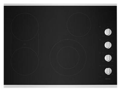 """30"""" Maytag  Black Electric Cooktop With Griddle - MEC8830HS"""