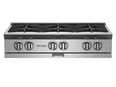 "36"" BlueStar Platinum Series Rangetop With Gridle - BSPRT366B"