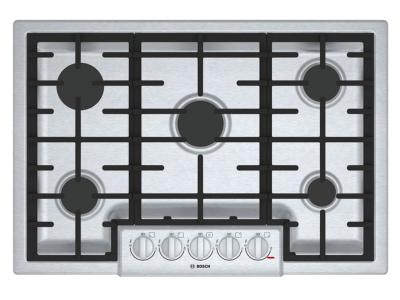 """31"""" Bosch 800 Series Gas Cooktop With 5 Burner - NGM8056UC"""