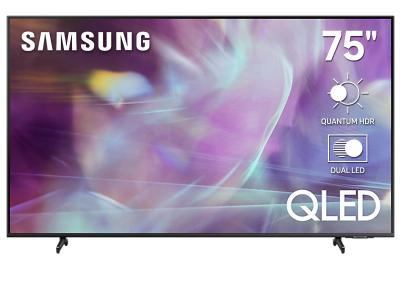 """75"""" Samsung QN75Q60AAFXZC QLED 4K Smart TV"""