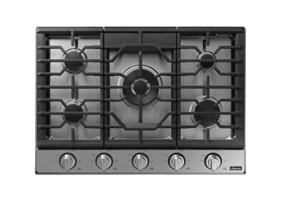 """30"""" Dacor Transitional Style Gas Cooktop with Heat Resistant ,Wi-fi  - DTG30P875NS"""