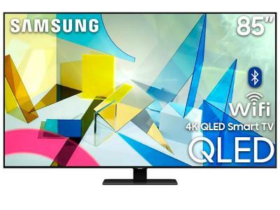 "85"" Samsung QN85Q80TAFXZC 4K Smart QLED TV"