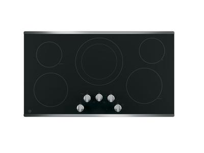 """36"""" GE Radiant Cooktop With Dual Elements - JP3036SLSS"""