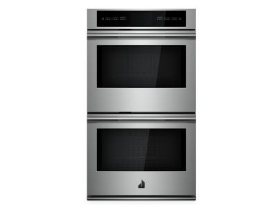 """30"""" Jenn-Air RISE Double Wall Oven with V2  Vertical Dual-Fan Convection - JJW3830IL"""